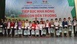 Tiếp sức cho học sinh nghèo vươn tới ước mơ