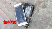 Iphone 6 mua tại Apple Store tự bốc cháy biến dạng