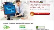ViewSonic tăngthêm 1 năm bảo hành cho màn hình LED