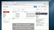 Học ngoại ngữ trong khi chờ bạn chat trên Gmail