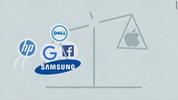 Apple kiện Samsung, một số smartphone Galaxy cũ bịcấm