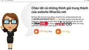 Dịch vụ NhacSO.net đóng cửa