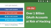 Lỗ hổng đe dọa hơn 1 tỉ tài khoản ứng dụng di động