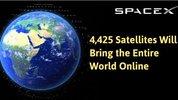 Elon Musk dùng hơn 4.400 vệ tinh phủ sóng Internet toàn cầu