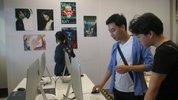 Sinh viên triển lãm bằng thực tế ảo