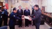 Cảnh sát Nhật vinh danh chàng trai Việt dũng cảm cứu người