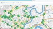 Bản đồ số giao thông có thêm tiện ích