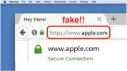 Coi chừng mở trang 'apple.com' nhưng không phải của Apple