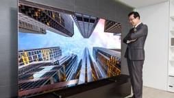 Cùng ngắm TV 'khủng' 88 inch giá 20 ngàn USD của Samsung