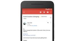 Gmail tạo liên kết tự động cho địa chỉ và số điện thoại