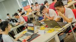Sinh viên thi an toàn thông tin mạng