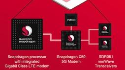 Qualcomm công bố kết nối dữ liệu 5G thành công trên chip 5G cho di động