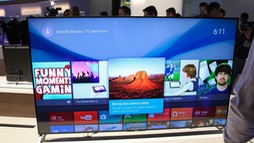 Tivi Sony, Samsung, Sharp, Panasonic năm nay có gì mới?