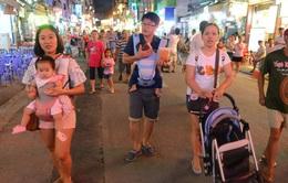 Đêm đầu tiên phố Tây Bùi Viện thành Phố đi bộ: ai cũng vui!
