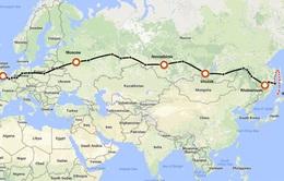 Đi chơi từ London (Anh) đến Tokyo (Nhật Bản) trên tuyến đường sắt lịch sử