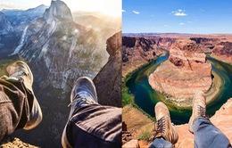Mốt chụp chân tại các điểm du lịch khét tiếng