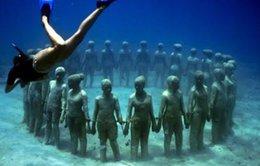 Chiêm ngưỡng bảo tàng trong lòng biển lớn nhất thế giới