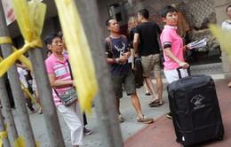 Trung Quốc ngưng cấp visa cho khách đoàn đến Hong Kong