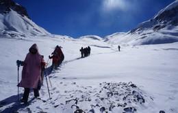 Cô gái Việt thoát chết thần kỳ giữabão tuyết Nepal