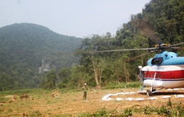 Tour khám phá Phong Nha bằng trực thăng tạm ngừng