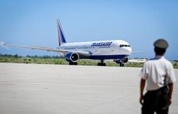 212 du khách Nga bay thẳng từ Matxcơva tới Cam Ranh