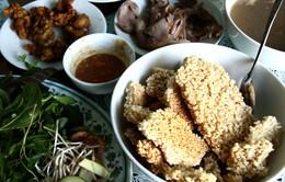 Về Ninh Bình ăn cơm cháy thịt dê