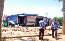 Dẹp nhếch nhác, rác thải ở Bãi Sau, Vũng Tàu