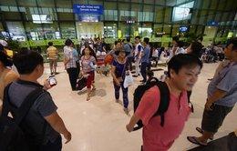 Sân bay Tân Sơn Nhất: Giảm thời gian làm thủ tục xuất cảnh