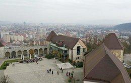 """Đi """"bụi"""" đầu đông ở Ljubljana"""