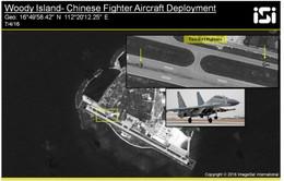 Phát hiện Trung Quốc đưa máy bay J-11sđến đảo Phú Lâm
