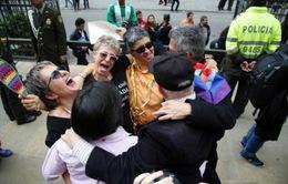 Colombia hợp pháp hóa hôn nhân đồng giới