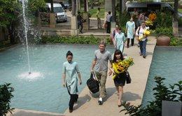 Đoàn đại sứ các nước chinh phục Sơn Đoòng đến Quảng Bình