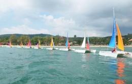 15 thuyền buồm trình diễn trên biển Nhật Lệ