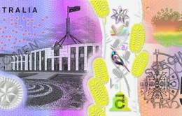 Úc in tiền có dấu nổi tiện cho người khiếm thị