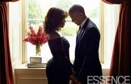 """Dân mạng """"mê"""" ánh mắt của ông Obama nhìn vợ"""