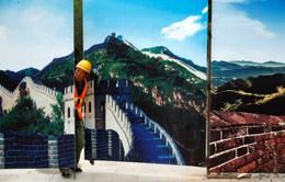 Trung Quốc xây nhà ga xe lửa dưới Vạn lý trường thành