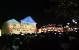 Gần 4 nghìn khách mua vé tham quan lễ hội ánh sángHội An