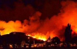 Cháy rừng dữ dội ở TP Christchurch, New Zealand