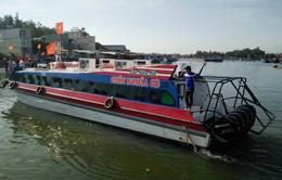 Tàu khách ra đảo Lý Sơn chỉ 25 phút