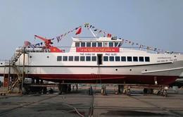Hạ thủy tàu khách 60 tỉ đồng đi Thổ Châu
