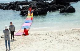 Dân đảo Bé học làm du lịch chuyên nghiệp
