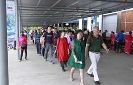 Các tỉnh, thành được đề nghị giữ tốc độ tăng khách Trung Quốc