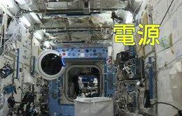Phi hành gia sống lơ lửng ra sao trong mắt thiết bị bay?