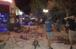 Động đất gây sóng thần ở Thổ Nhĩ Kỳ, chết người ở Hi Lạp