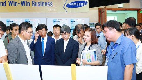 Ốc vít và điện tử đã có cửa vào… Samsung